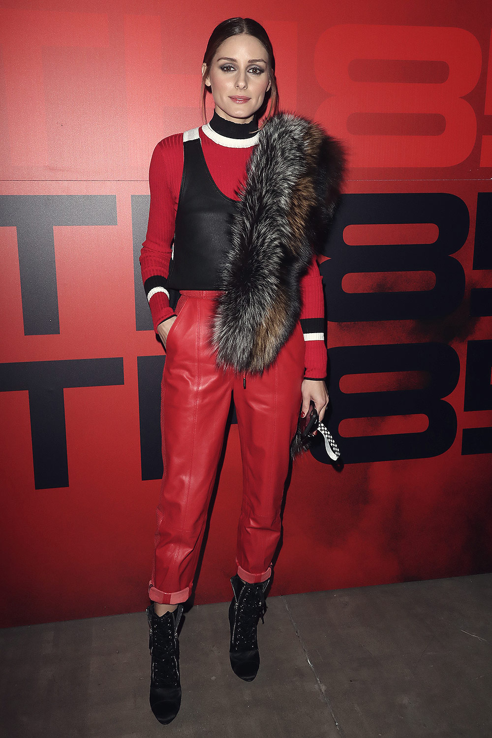 Olivia Palermo attends Tommy Hilfiger show