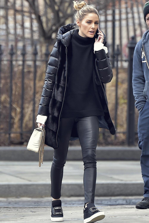 Olivia Palermo is seen in Brooklyn