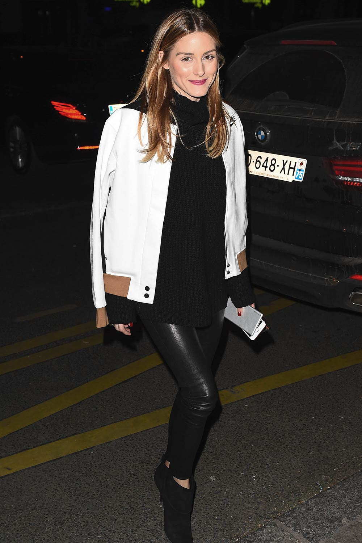 Olivia Palermo is seen in Paris