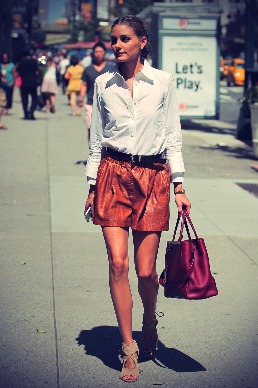 Olivia Palermo runs errands in New York City