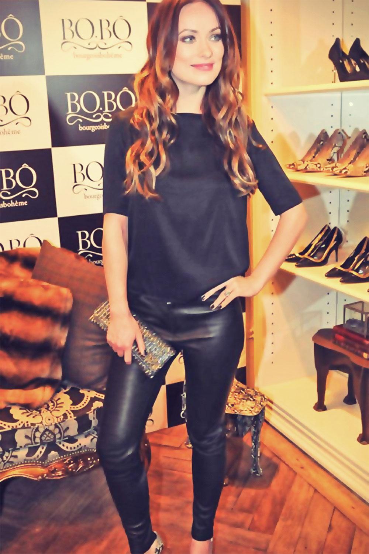 Olivia Wilde BOBO store opening