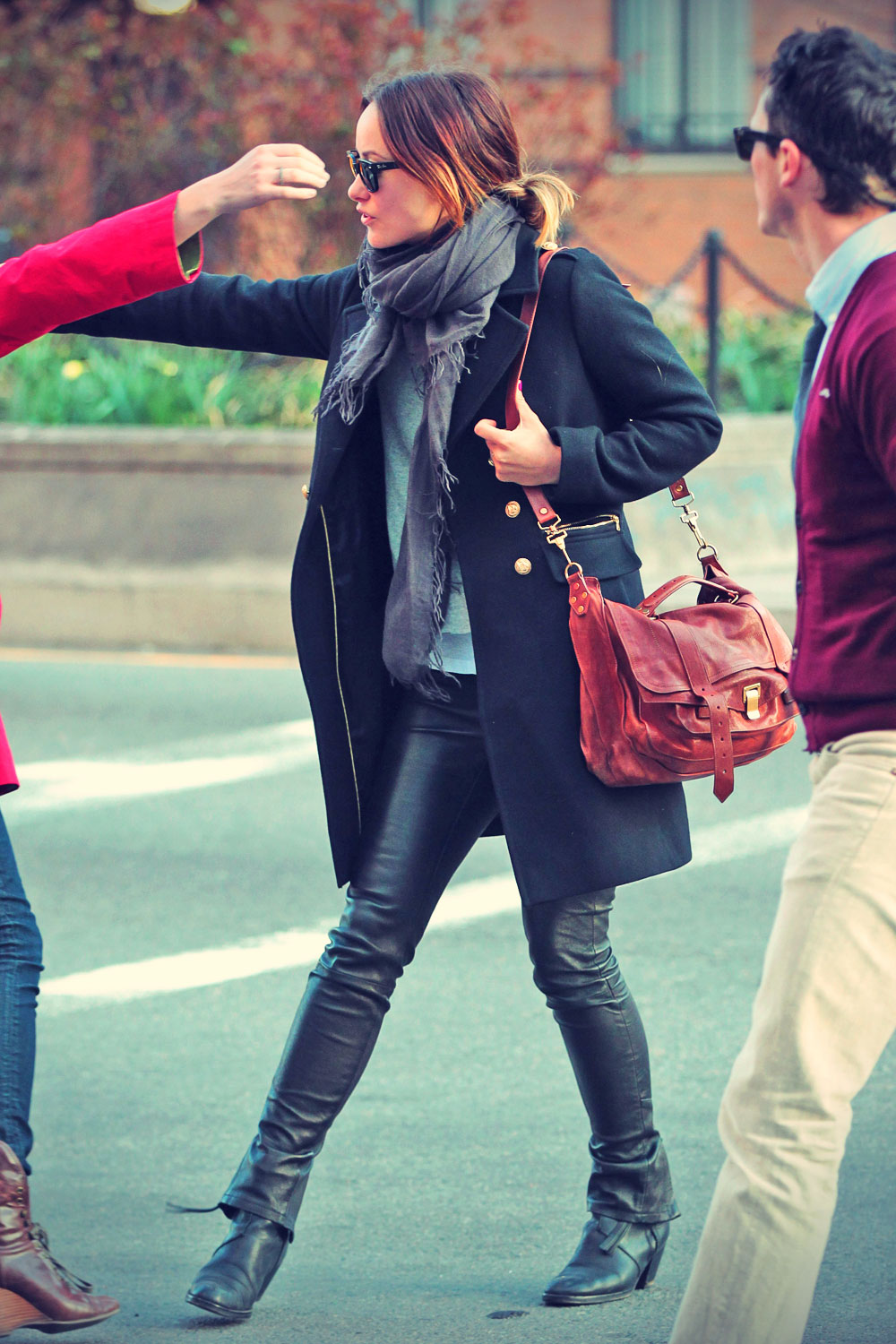 Olivia Wilde out and about Soho