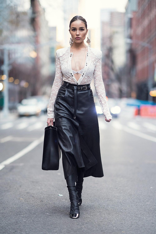 Olivia Culpo seen in New York