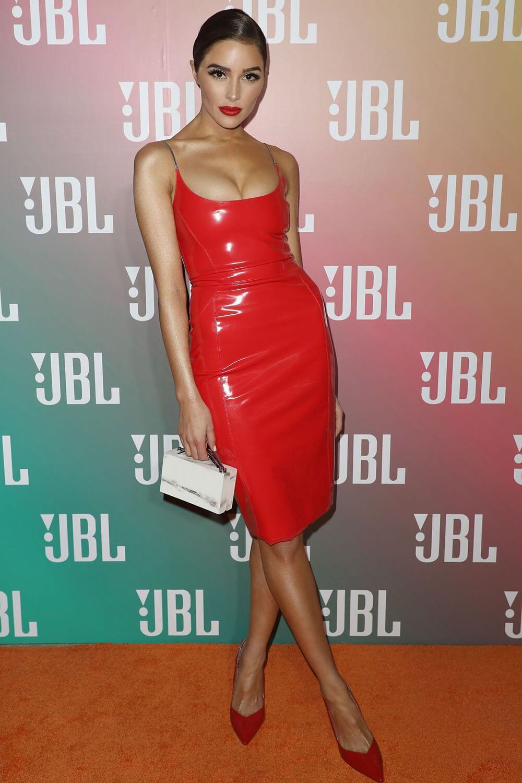 Olivia Culpo attends JBL LIVE headphone launch