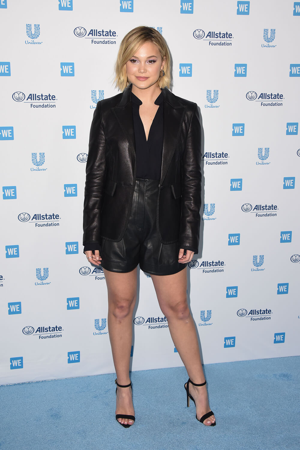 Olivia Holt attends WE Day California 2019 at the Forum in Inglewood 4/25/19