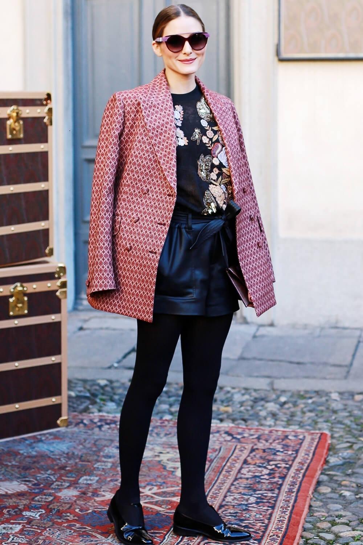 Olivia Palermo attending ETRO Autumn/Winter 2019/20 Fashion Show