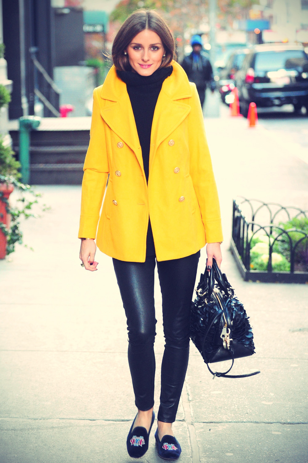 Olivia Palermo going for breakfast