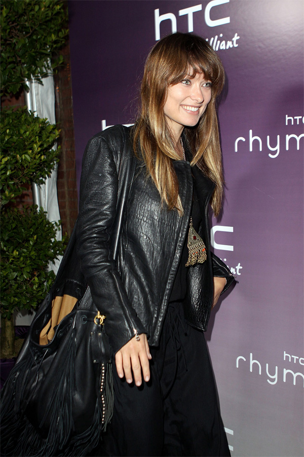 "Olivia Wilde at ""HTC Serves Up NYC"" product launch"