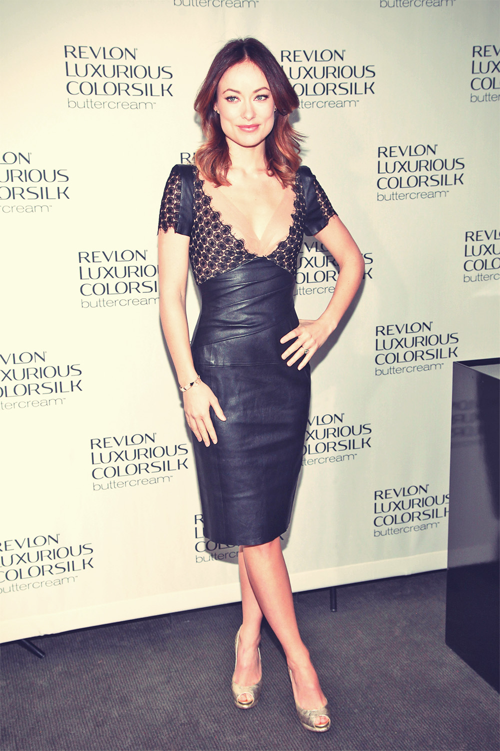 Olivia Wilde attends Revlon Luxurious ColorSilk Buttercream launch