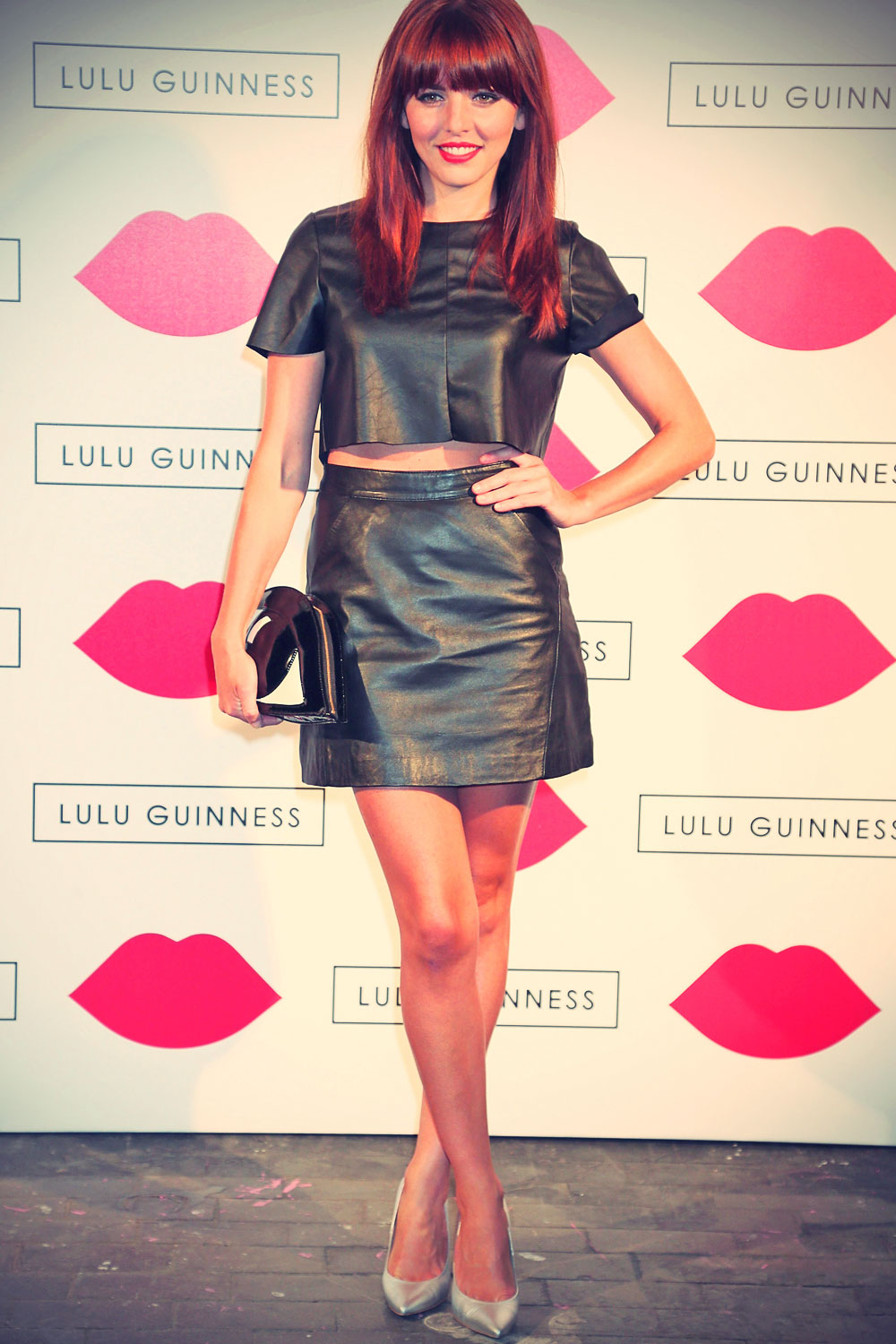 Ophelia Lovibond Lulu Guinness: Paint Project Party