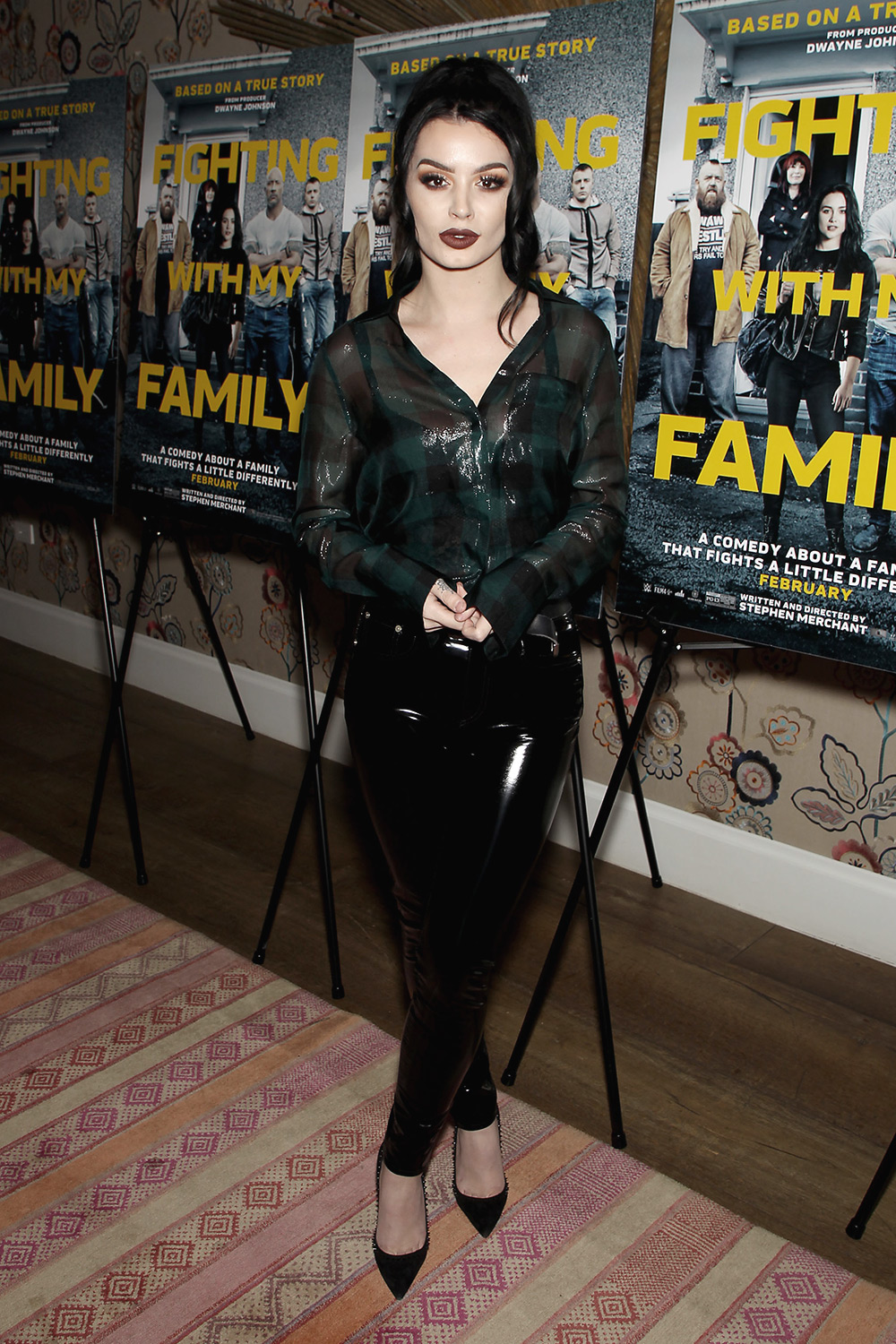 Paige Bevis attends New York Special Screening