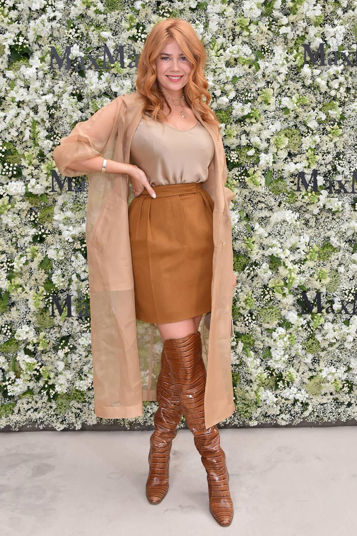 Palina Rojinski attends Max Mara Resort 2020 Red Carpet Event