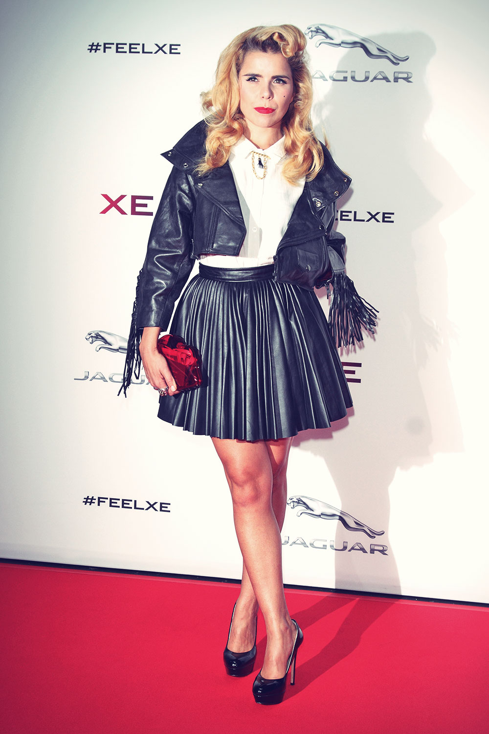 Paloma Faith attends Global Launch Of New Jaguar XE Sport Saloon