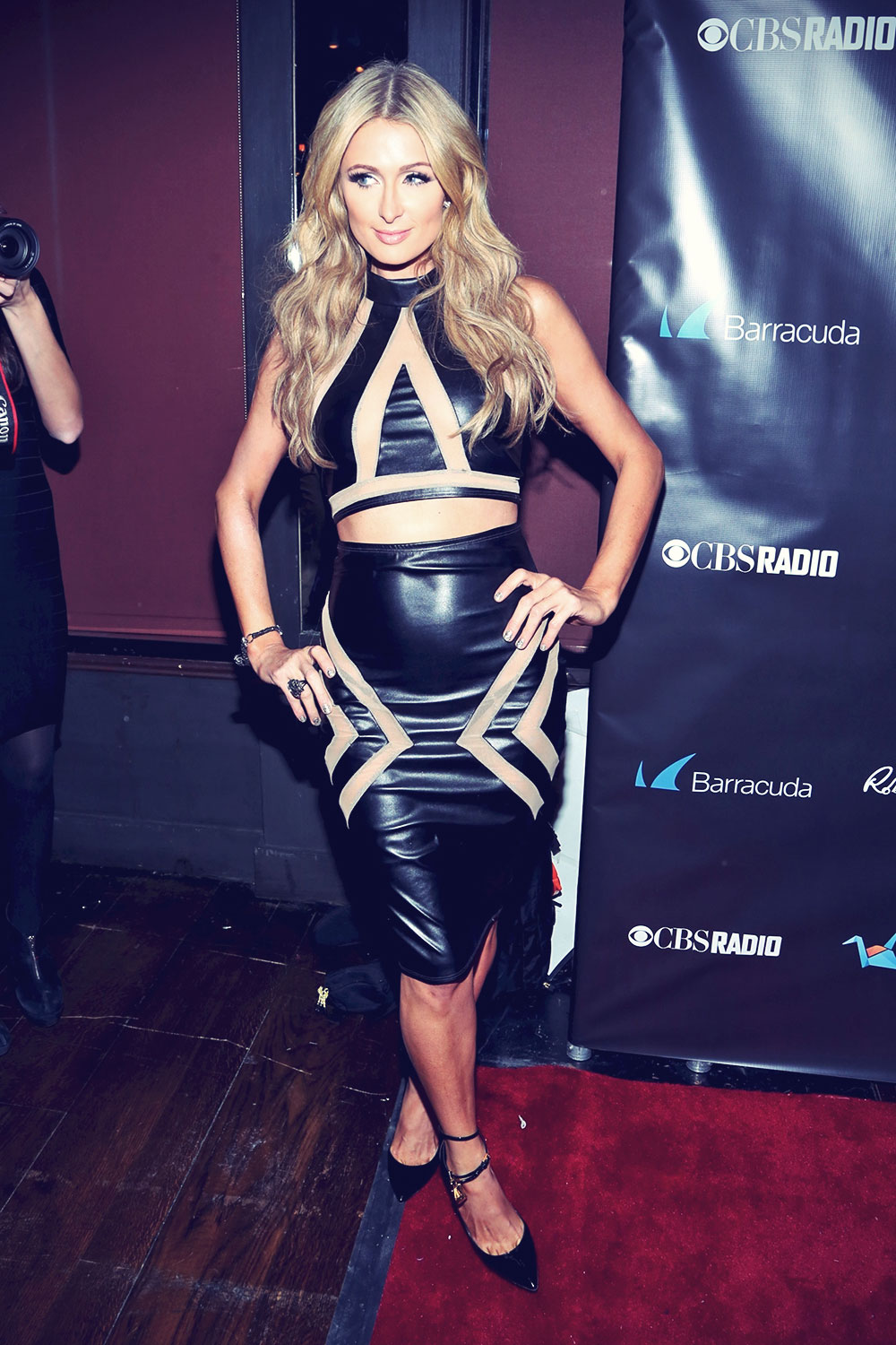 Paris Hilton at the 11th Annual Leather & Laces Party