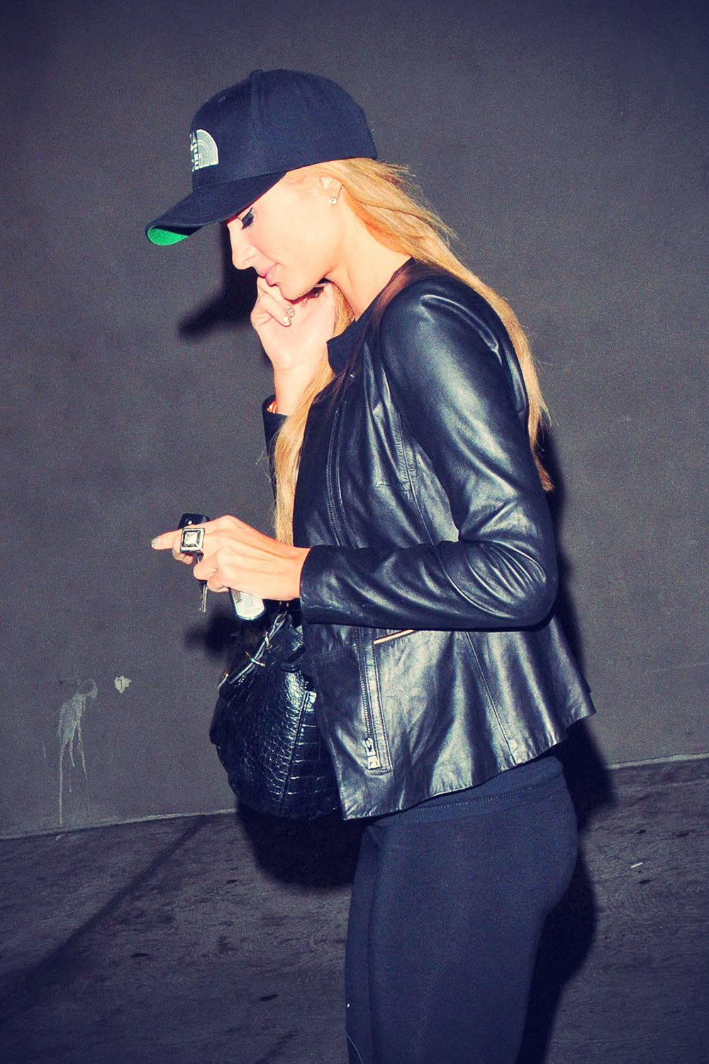 Paris Hilton at the ArcLight Cinemas in Hollywood