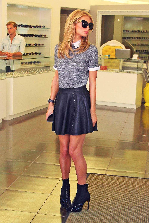 Paris Hilton is seen out shopping in LA