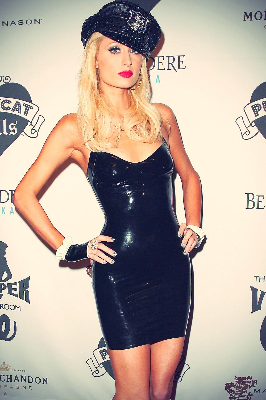 Paris Hilton opening Night Of The Pussycat Dolls Lounge