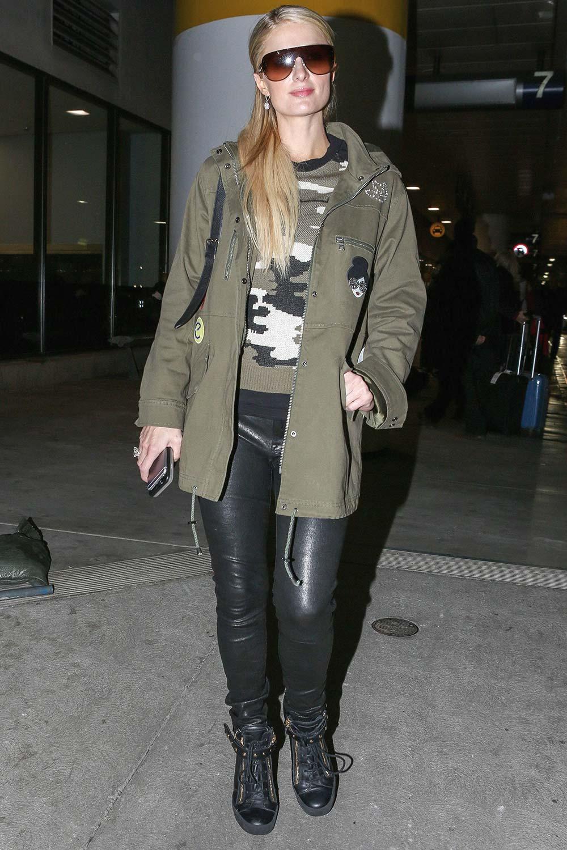 Paris Hilton seen in Los Angeles