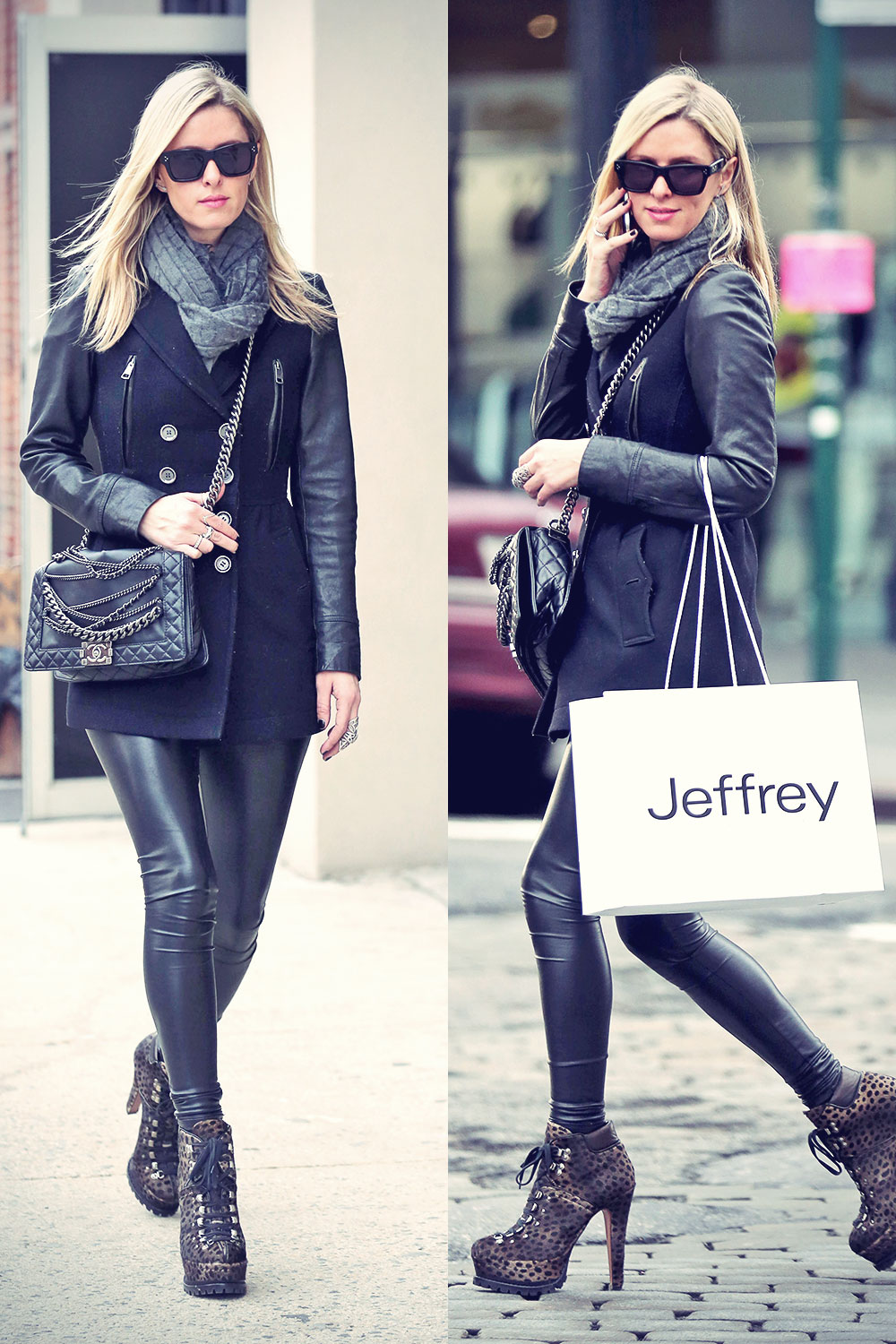 Paris and Nicky Hilton Shopping around the Meat Packing District (part2)