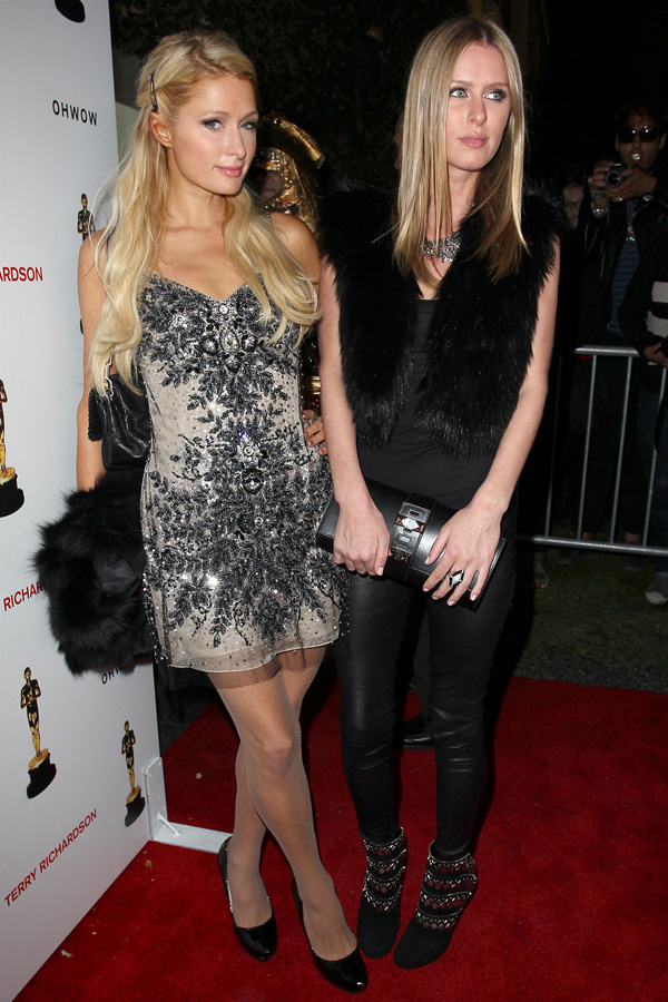Paris and Nicky Hilton attend Los Angeles Opening of Terrywood by Terry Richardson