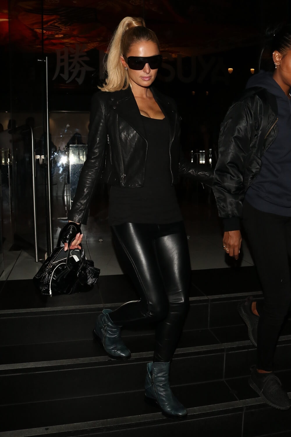 Paris Hilton steps out for a night of fun