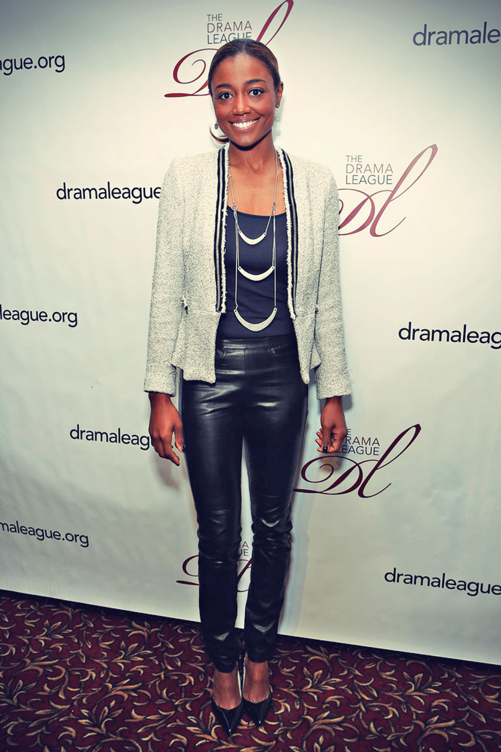 Patina Miller attends the 2013 Drama League Awards
