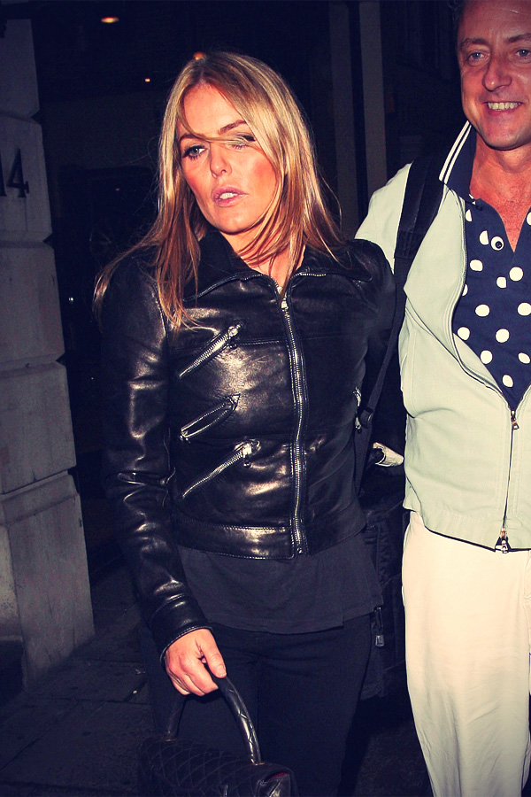 Patsy Kensit at Nobu Berkeley in London