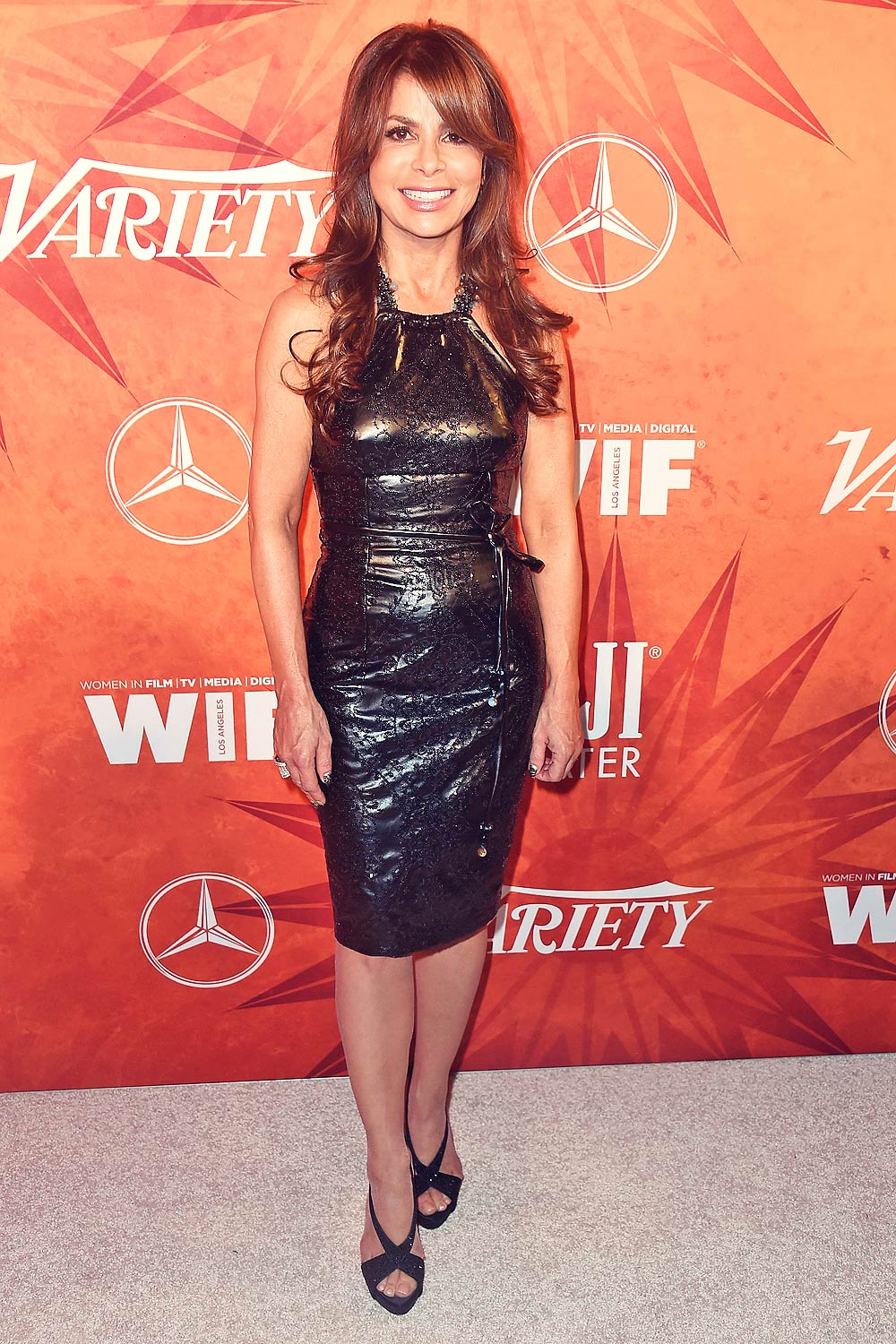 Paula Abdul Attends Variety And Women In Film Annual Pre