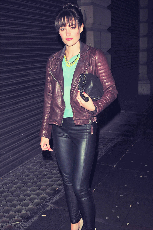 Paula Lane attends Shobnas Leaving Party
