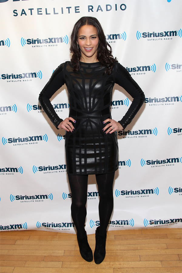 Paula Patton - SiriusXM Studio appearance in NYC