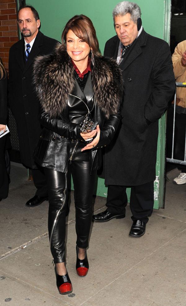 Paula Abdul at Good Morning America