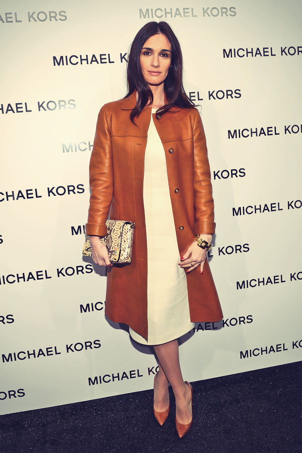 Paz Vega Michael Kors Fall 2013 fashion show