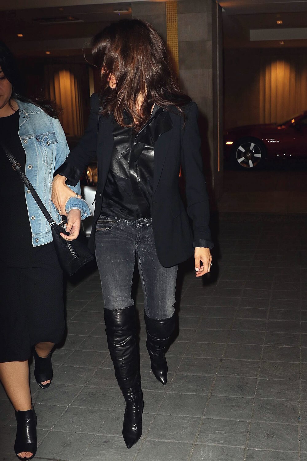 Penelope Cruz Seen Out In Manhattan Leather Celebrities