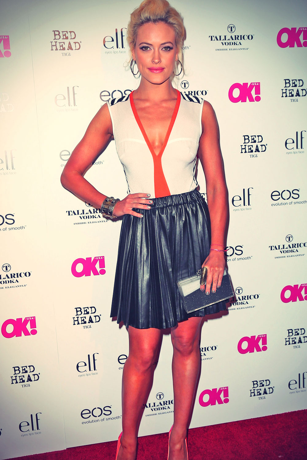 Peta Murgatroyd attends OK! Magazine's SO SEXY event at the Skybar