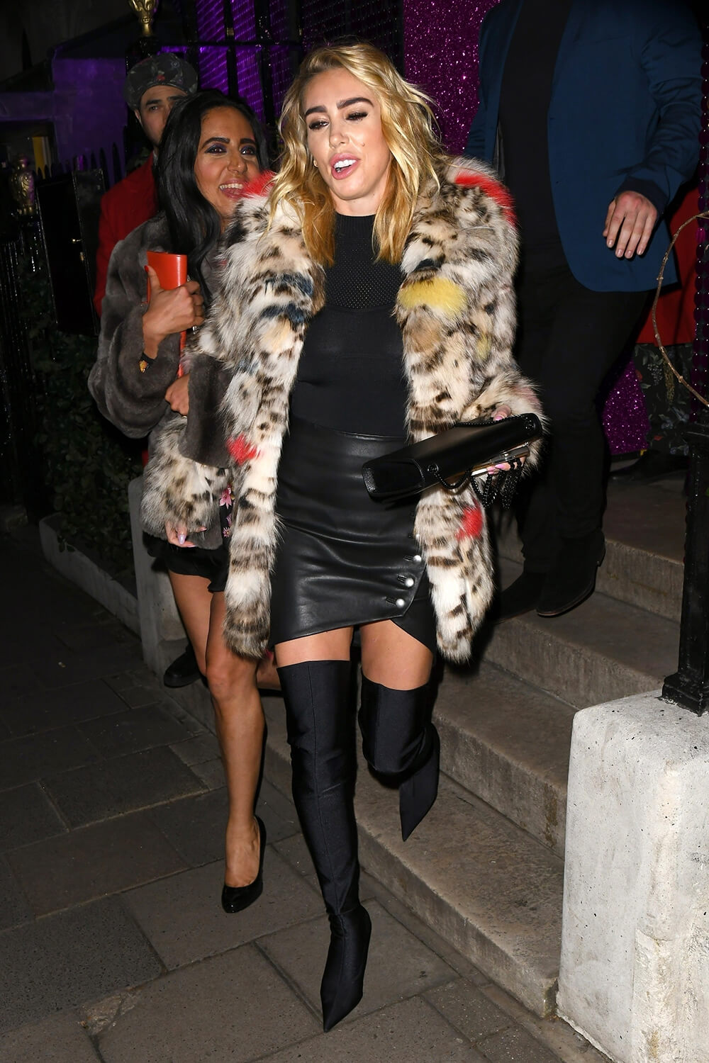Petra Ecclestone spotted leaving Annabel's