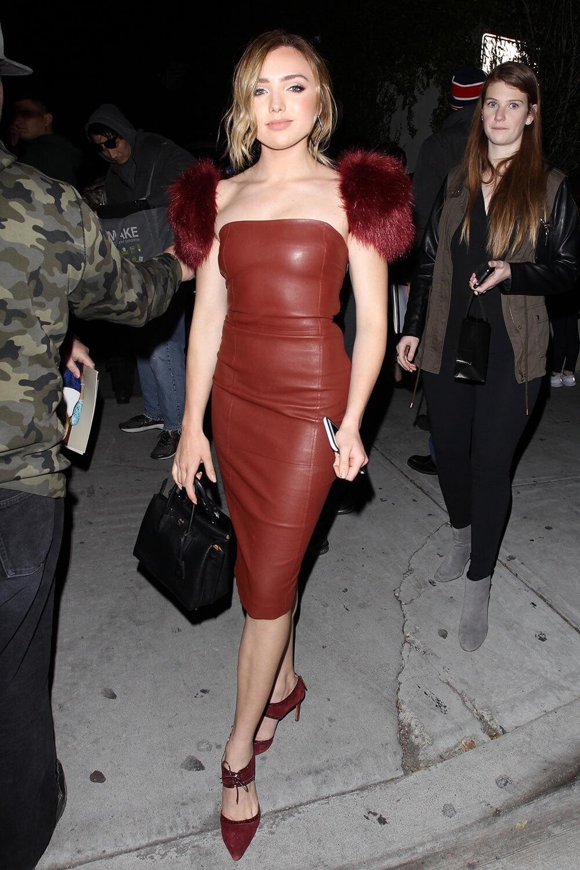 Peyton List attends Vanity Fair & LOréal Paris Celebrate