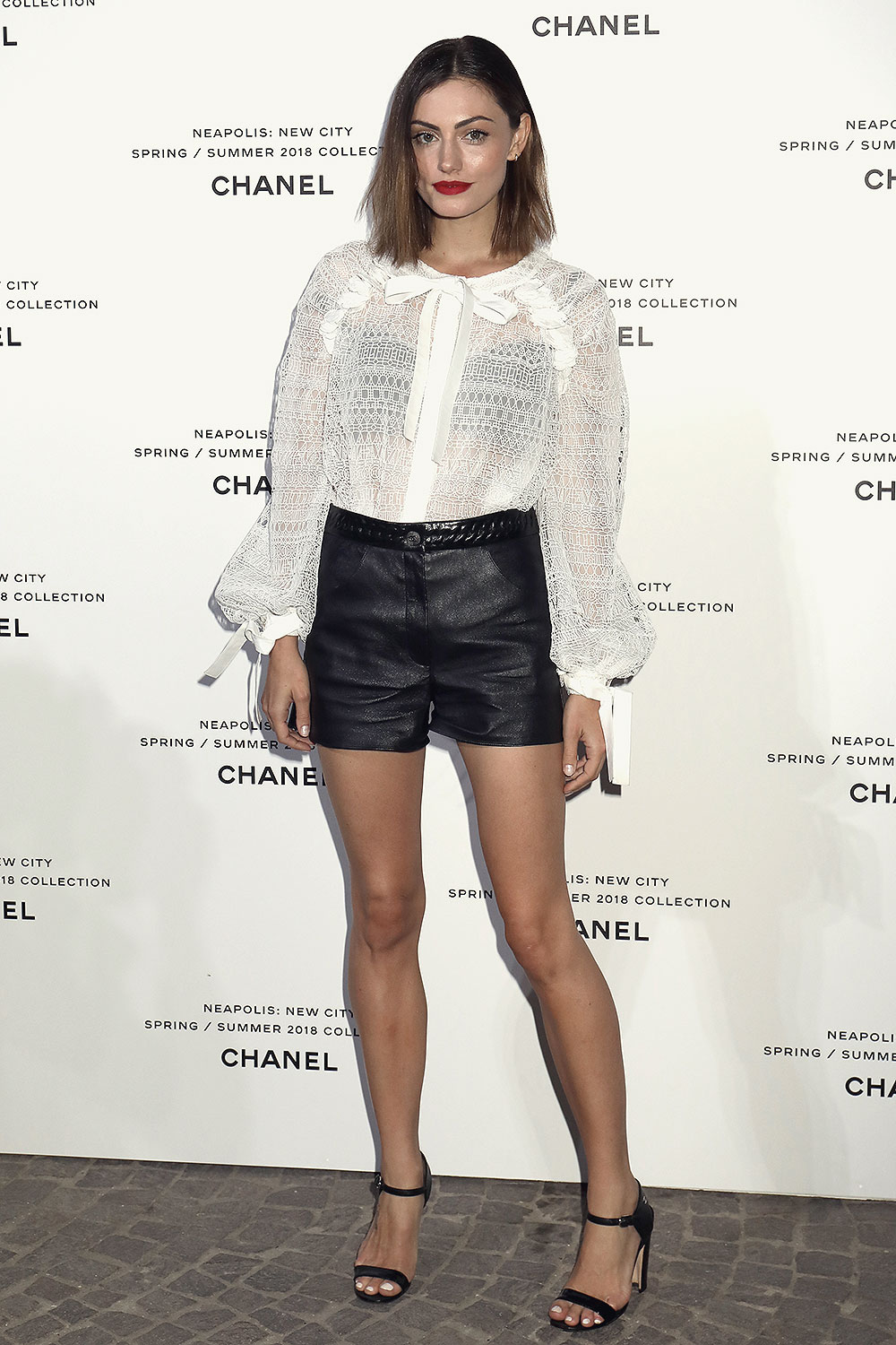 Phoebe Tonkin attends Launch of Lucia Pica's Chanel SpringSummer
