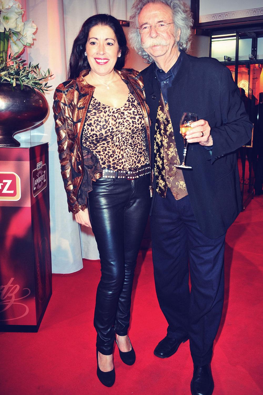 Pina Collucia attends the Lambertz Monday Night