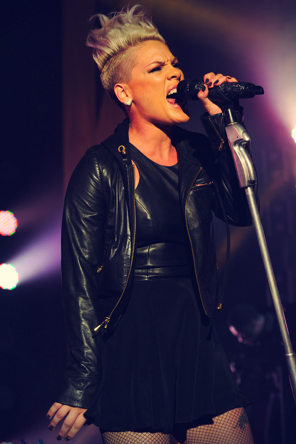 Pink performs At Circus Krone