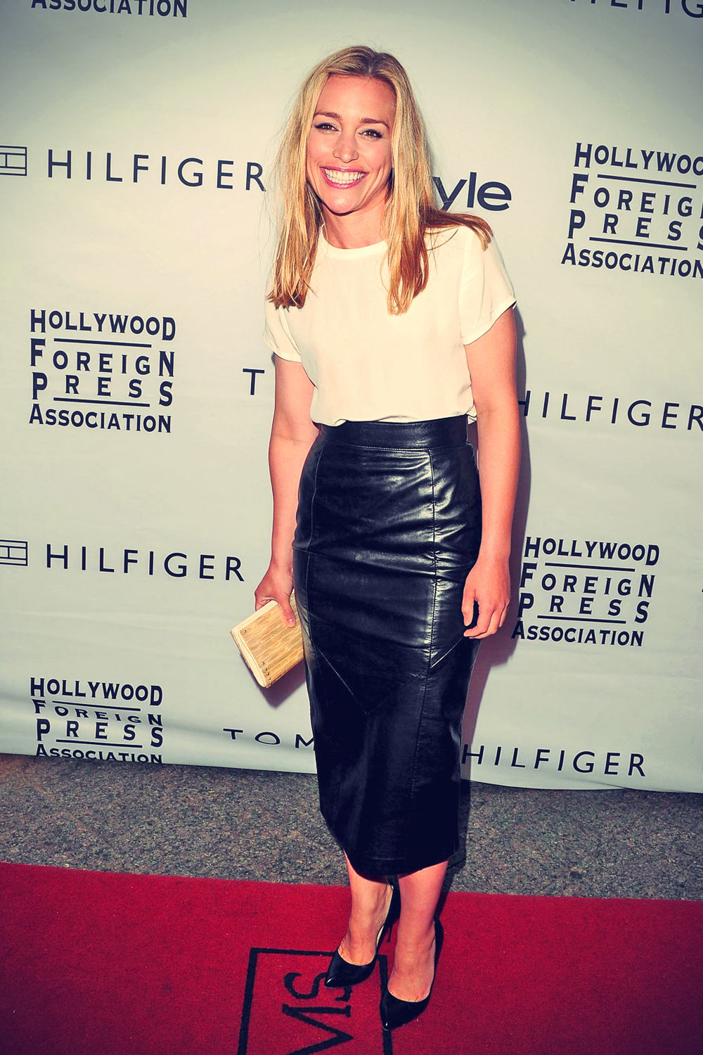 Piper Perabo attends InStyle & The Hollywood Foreign Press