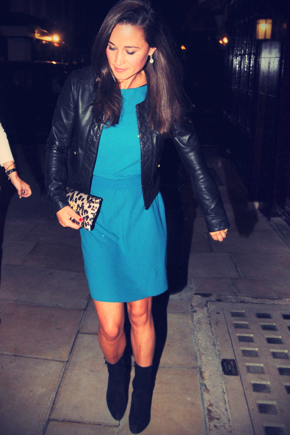 Pippa Middleton out in London