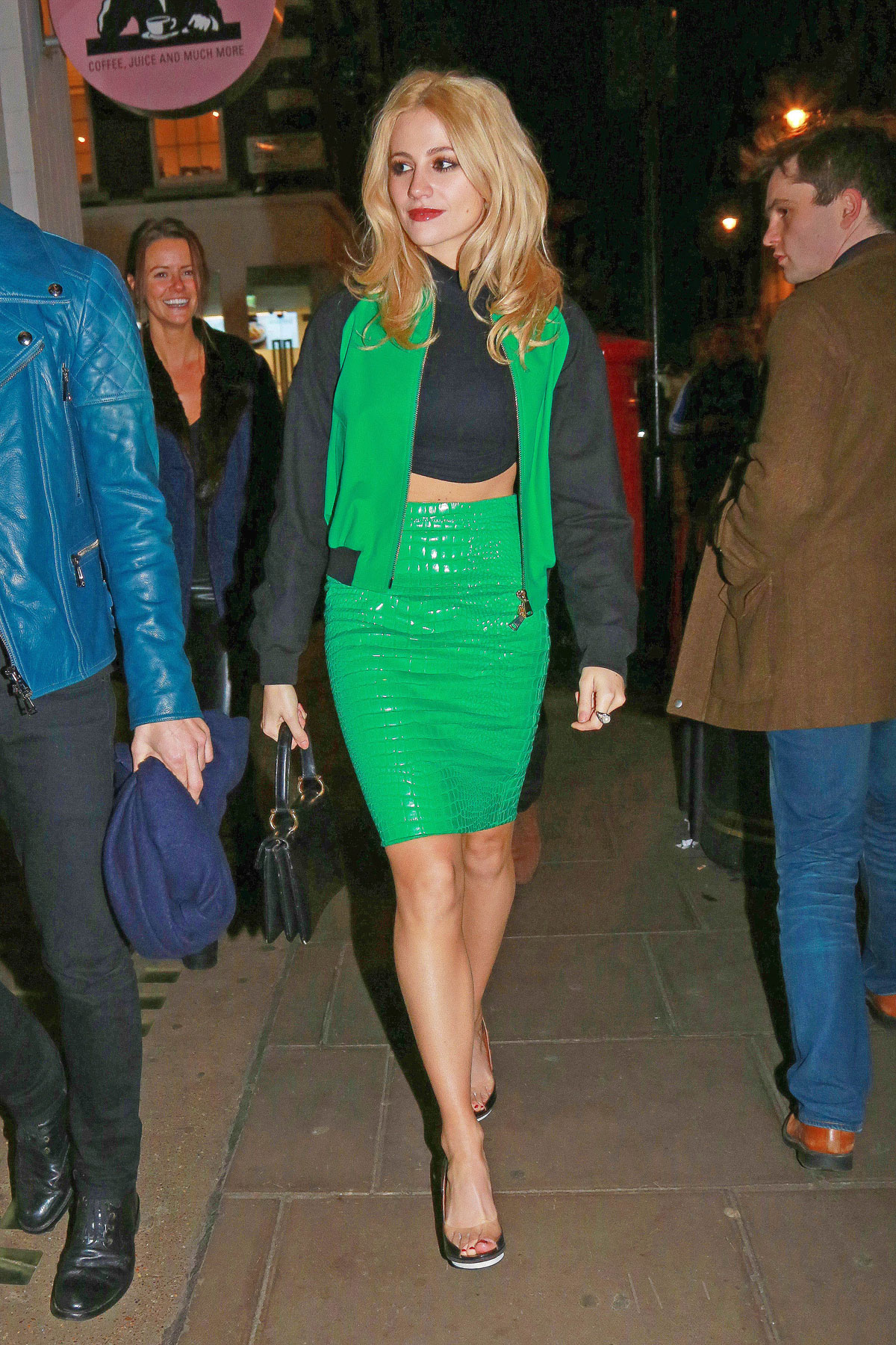 Pixie Lott Going to the Groucho Club