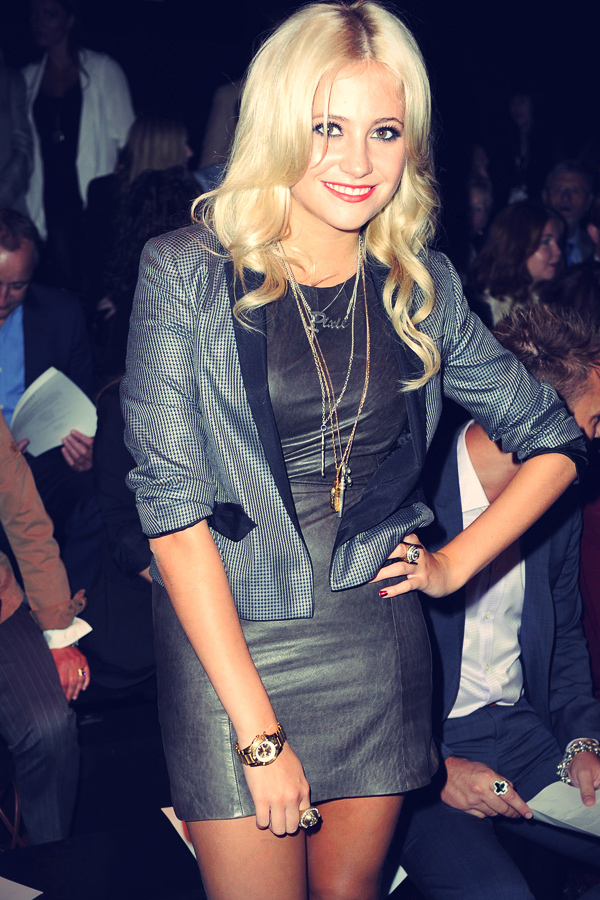 Pixie Lott at London Fashion Week