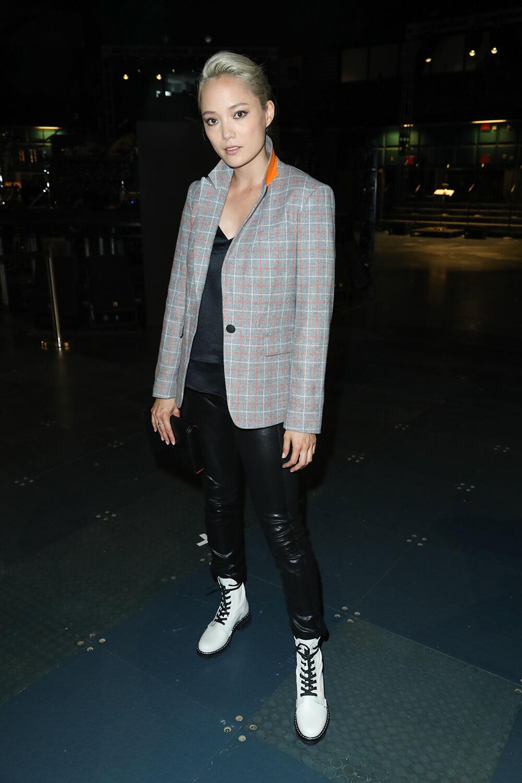 Pom Klementieff attends Rag and Bone show