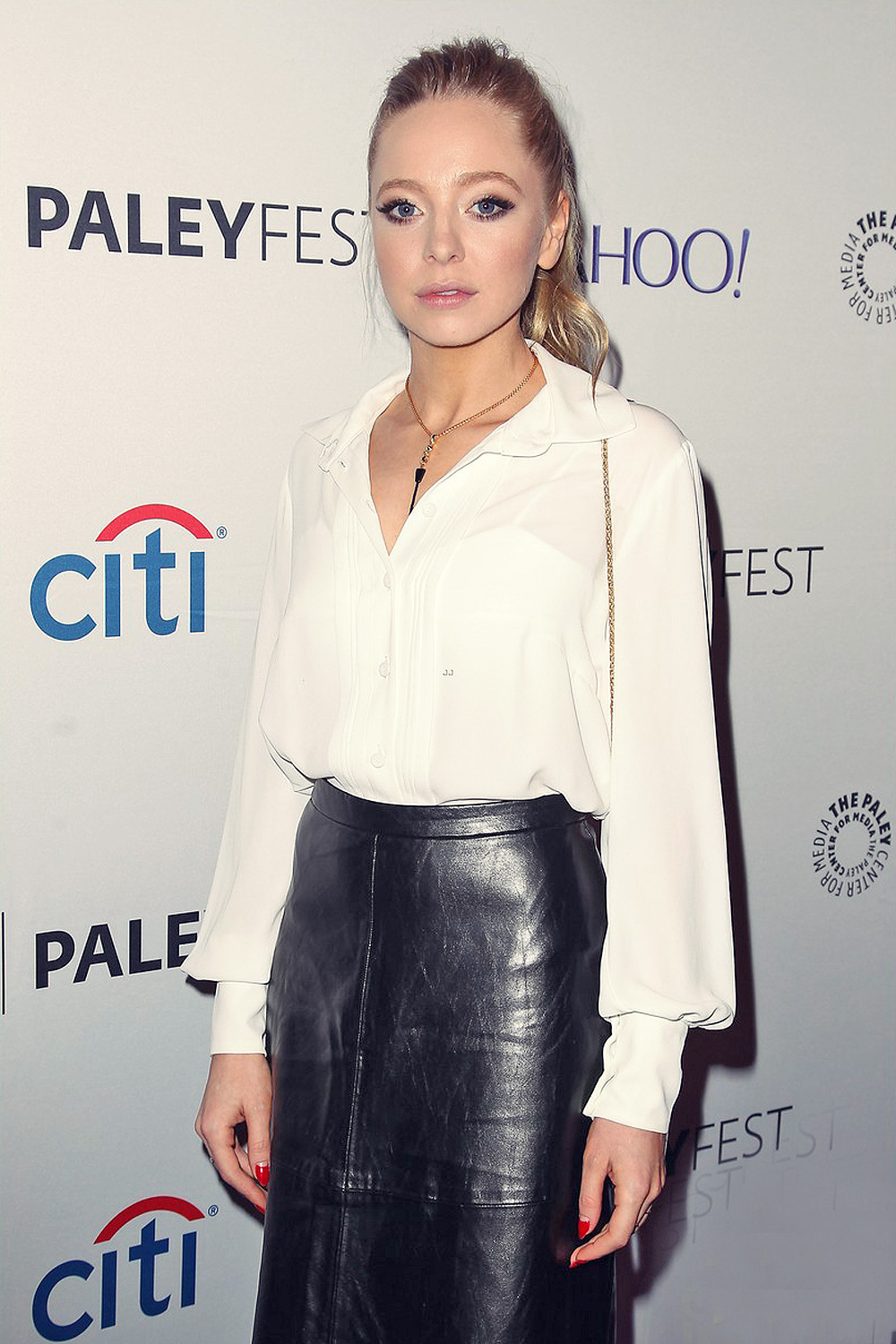 Portia Doubleday at Mr Robot panel held during 2015 PaleyFest