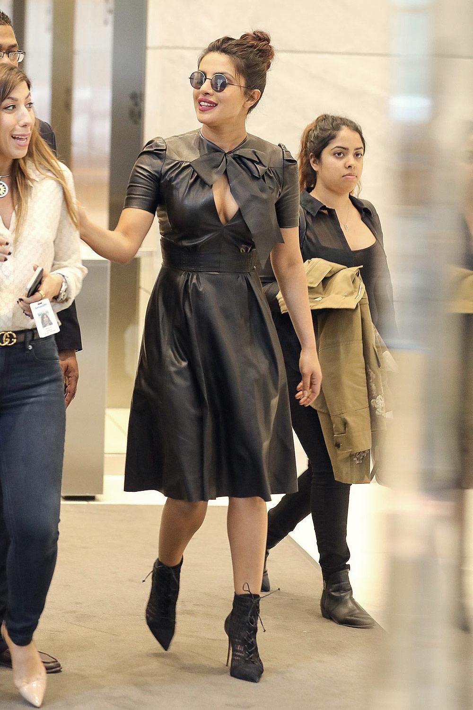 Priyanka Chopra Out in New York City