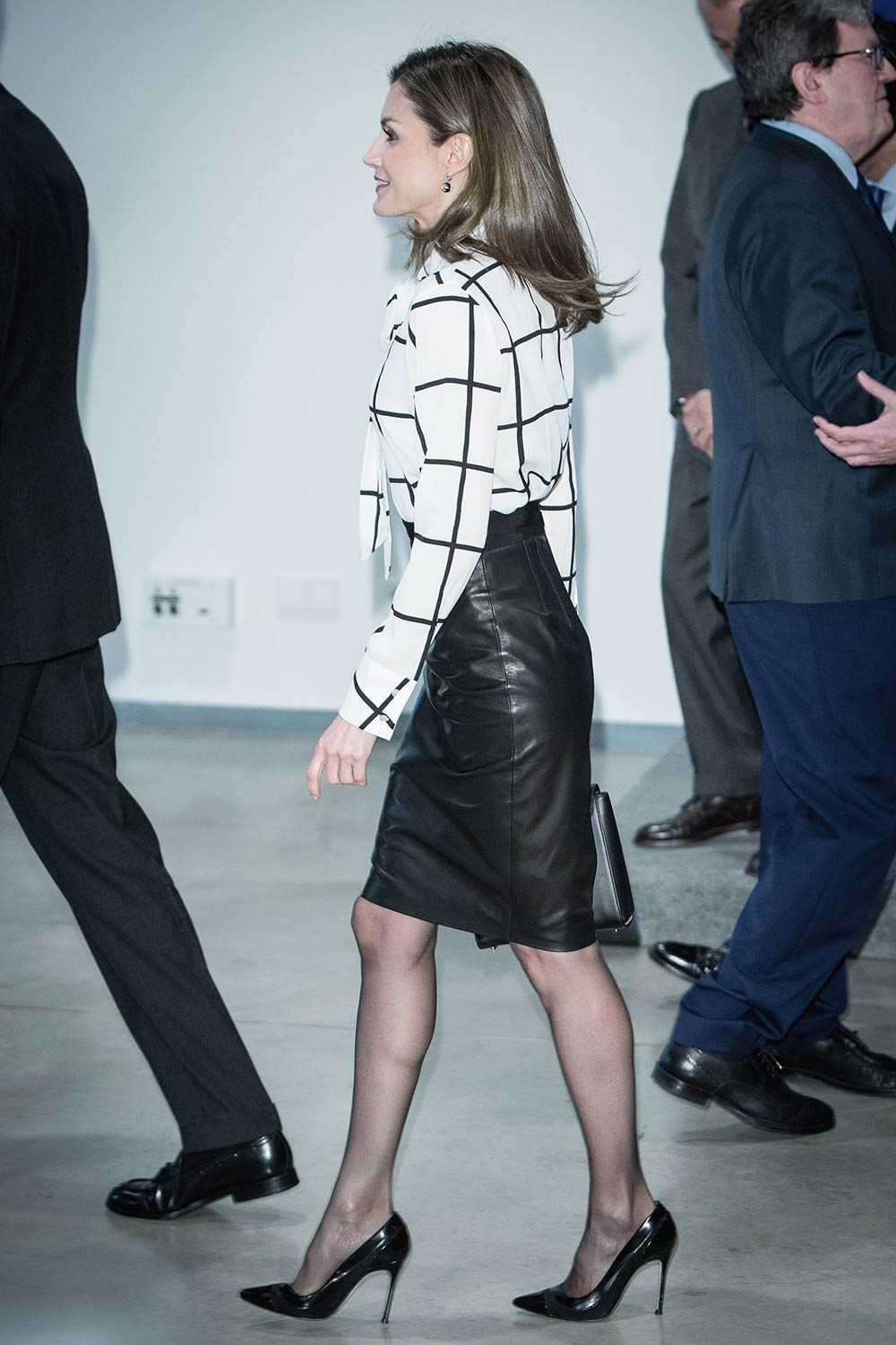 Queen Letizia of Spain attends the 'El Valor Economico del ...