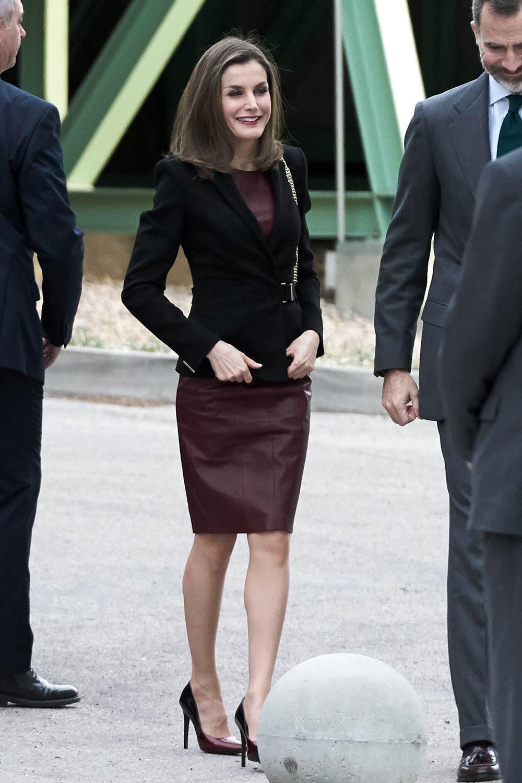 Queen Letizia of Spain... Nicole Richie