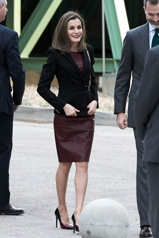 Queen Letizia of Spain visits CNIC
