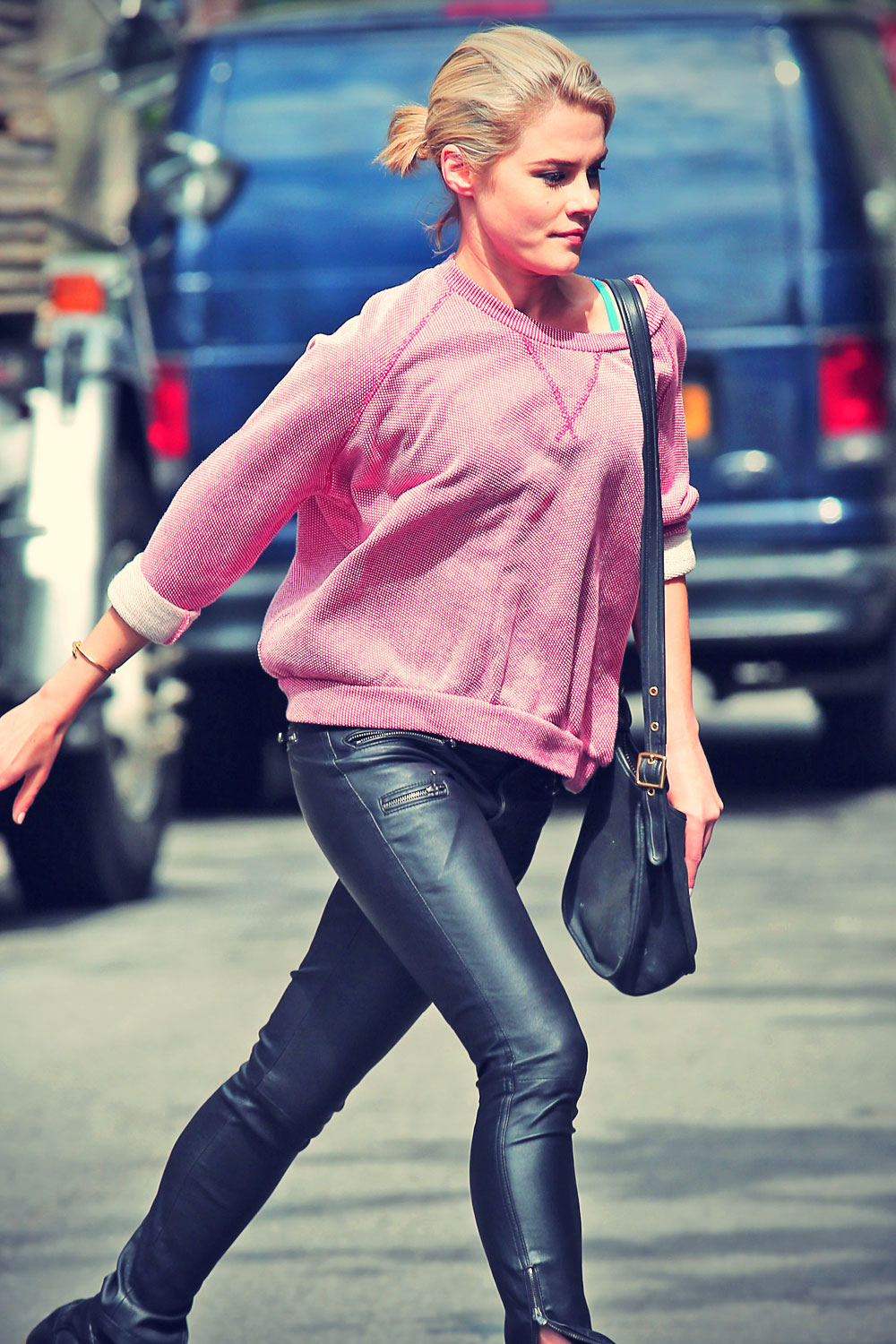 Rachael Taylor out and about in the West Village